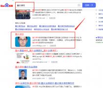 优化案例关键词:重庆律师